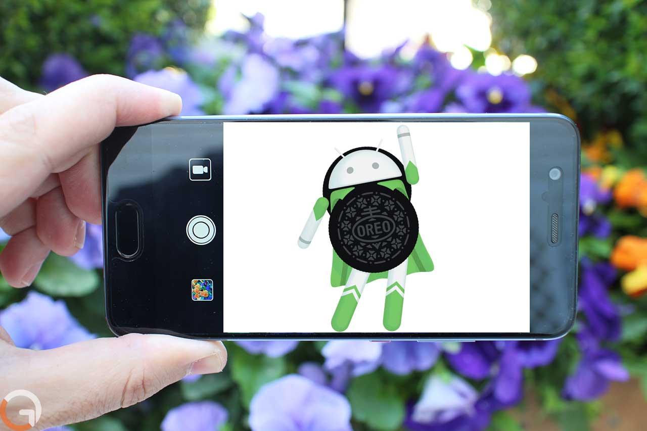 Huawei P10 ואנדרואיד אוראו (צילום: רונן מנדזיצקי, גאדג'טי)