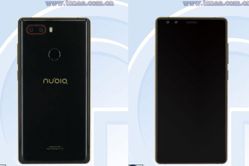 Nubia NX595J - האם זהו Nubia Z17s? (מקור: TENAA)
