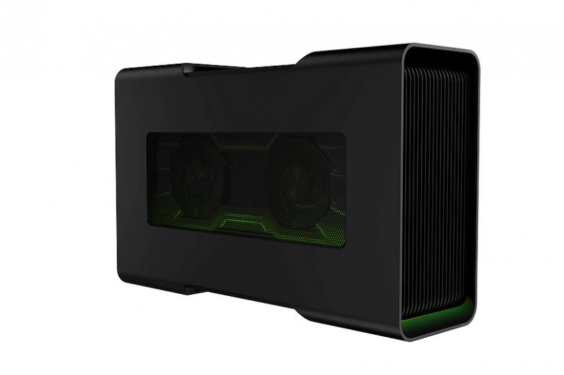 Razer Core V2 מבט צדדי