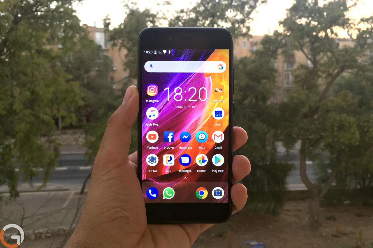 Xiaomi Mi A1 (צילום: אלי כהן, גאדג'טי)