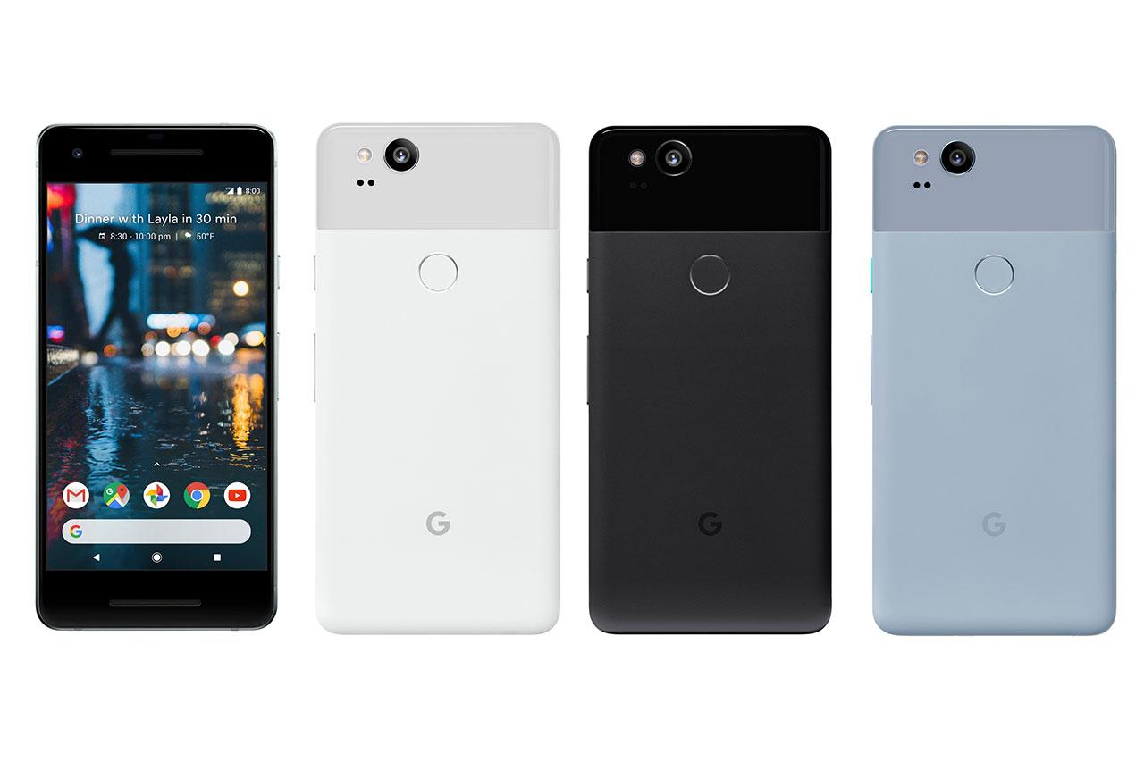 Google Pixel 2 (הדלפה: Evleaks)