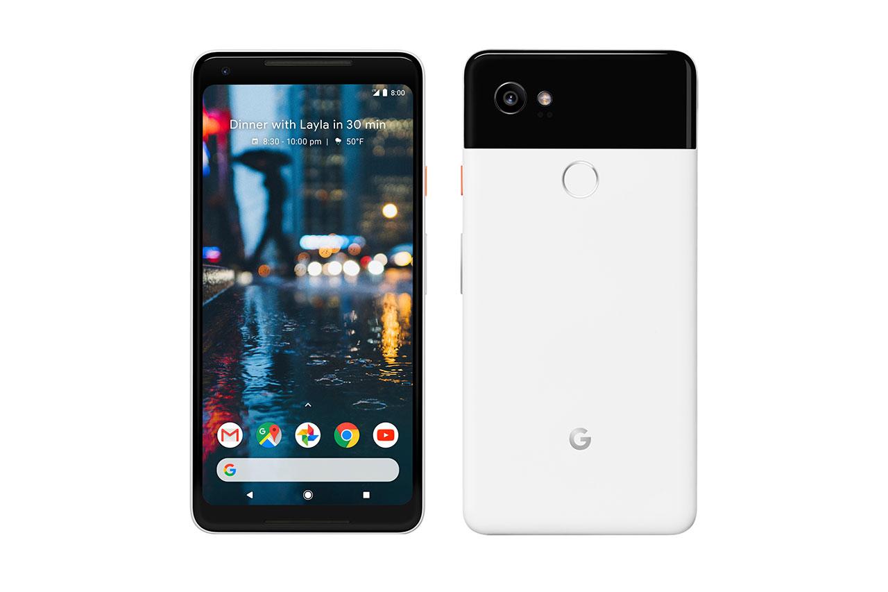 Google Pixel 2 XL (הדלפה: Evleaks)