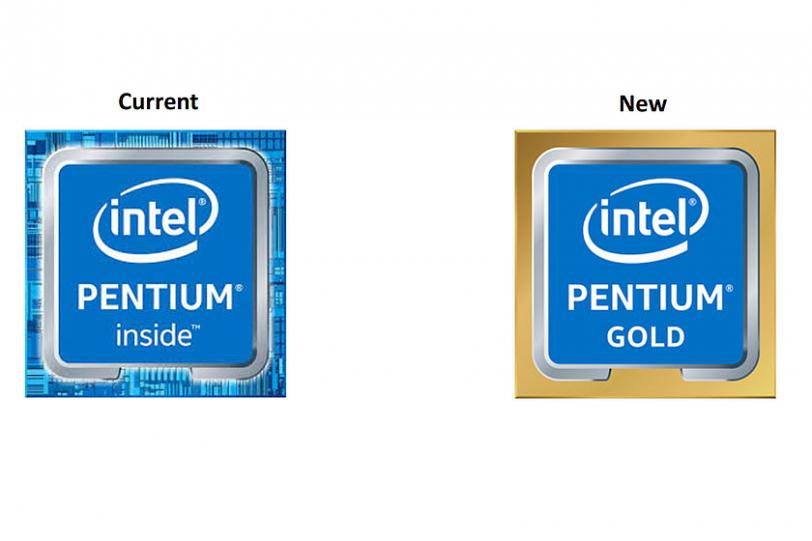 לוגו מעבדי Intel Gold החדשים