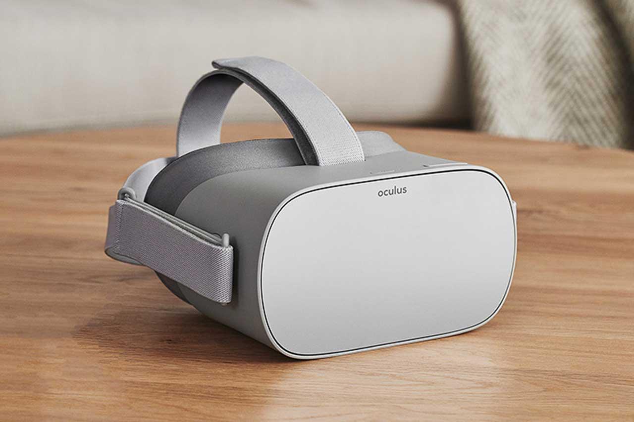 משקפי מציאות מדומה Oculus Go (באדיבות פייסבוק)