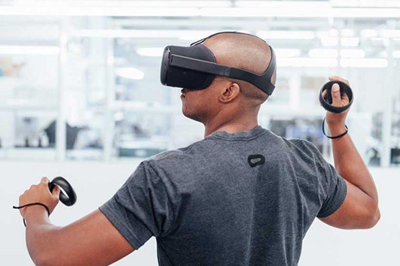 פרוייקט Santa Cruz למשקפי מציאות מדומה אלחוטיים (באדיבות פייסבוק)