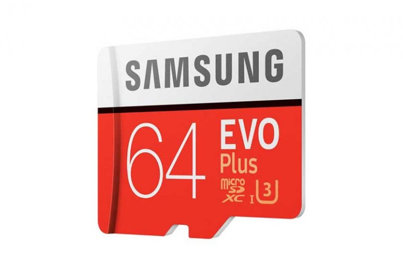 כרטיס זיכרון Samsung UHS-3 Evo+ 64GB Micro SDXC
