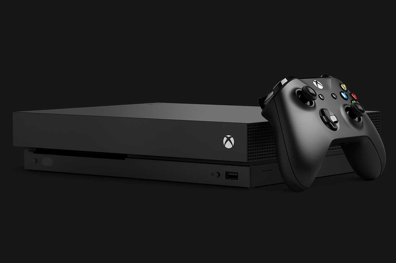 קונסולת Xbox One X (תמונה: מיקרוסופט)