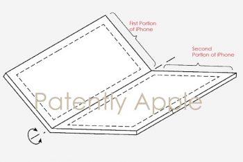 פטנט חדש של אפל רומז כי החברה עשויה לעבוד על מכשיר אייפון מתקפל