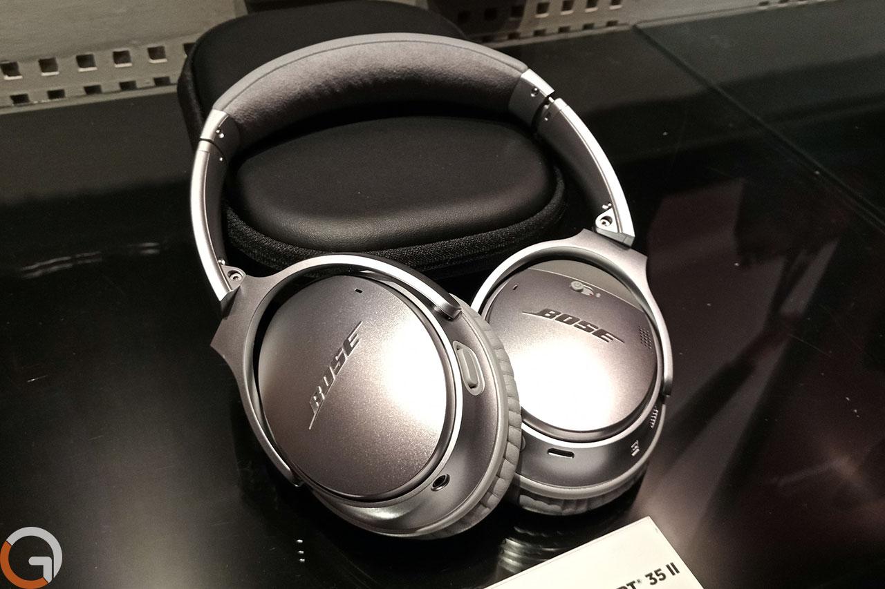 אוזניות BOSE QuietComfort 35 ii (צילום: רונן מנדזיצקי, גאדג'טי)
