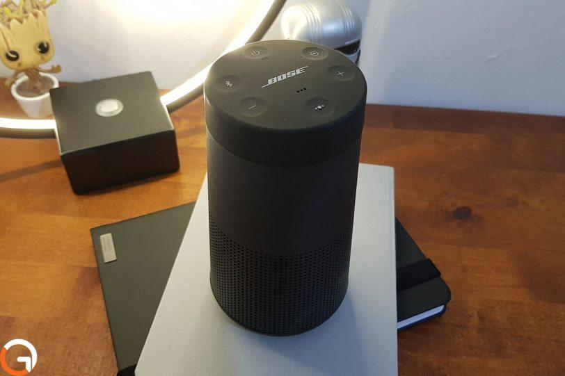 רמקול Bose Soundlink Revolve (צילום: אוהד צדוק, גאדג'טי)