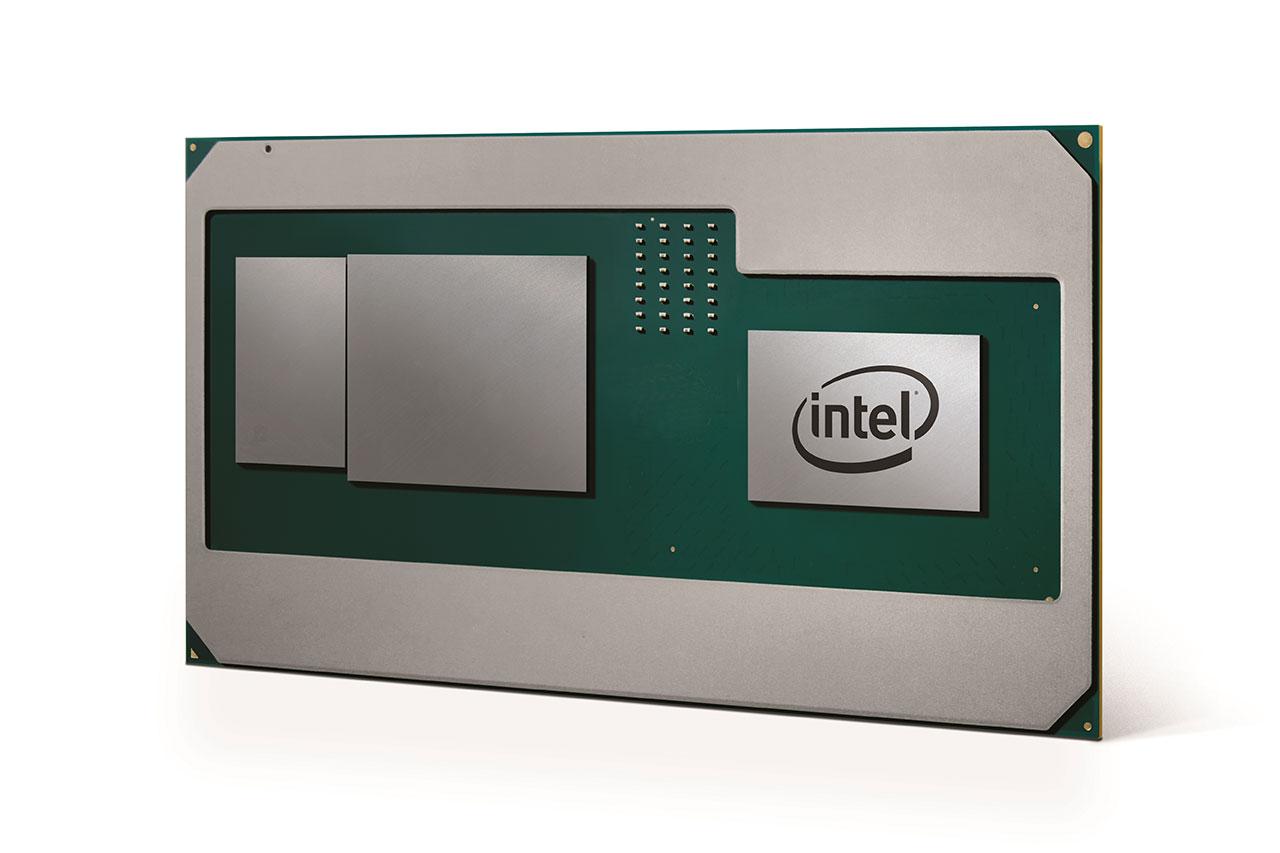מעבד דור 8 החדש של אינטל עם מעבד גרפי מבית AMD (תמונה באדיבות אינטל)