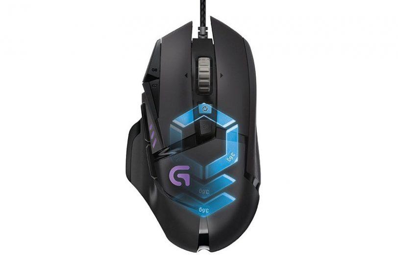 עכבר גיימינג Logitech G502
