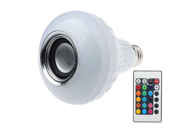 רמקול בלוטות' אלחוטי עם תאורת LED
