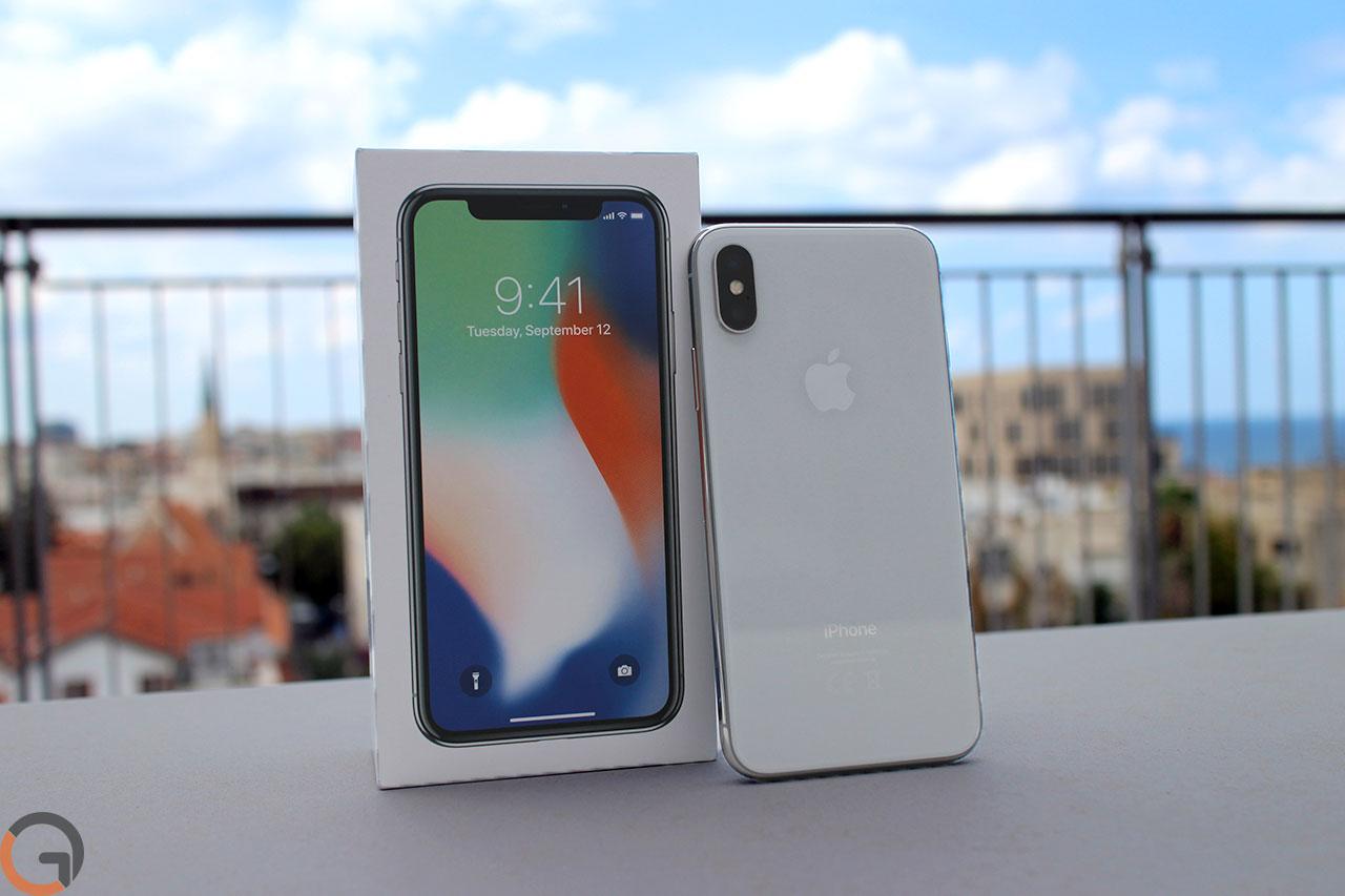 אייפון 10 (צילום: רונן מנדזיצקי, גאדג'טי)