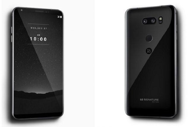 הוכרז: LG Signature Edition – גרסה ייחודית ל-V30 עם גב קרמי ואנדרואיד 8.0 אוראו