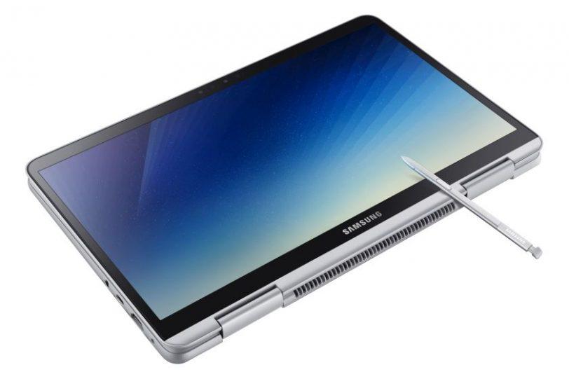 מחשב נייד Notebook 9 Pen במצב טאבלט (מקור סמסונג)