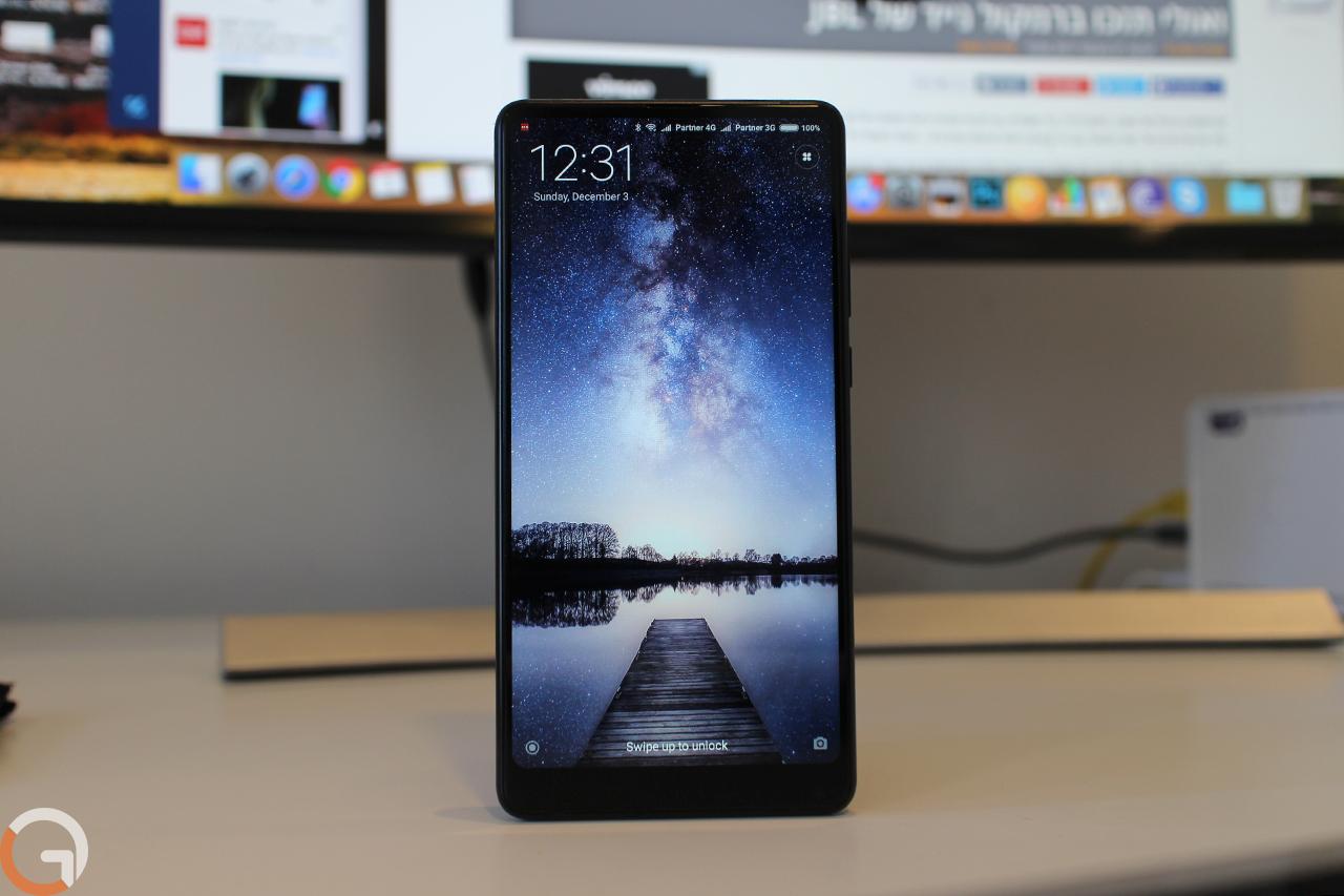 Xiaomi Mi Mix 2 (צילום: גאדג'טי)