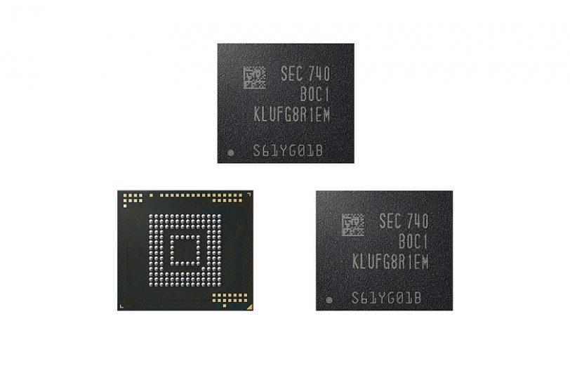 שבב eUFS בנפח 512GB (מקור סמסונג)