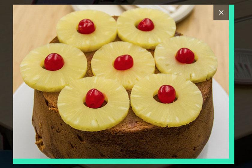 עוגת אננס