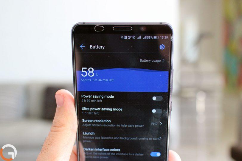 Huawei Mate 10 Pro (צילום: רונן מנדזיצקי, גאדג'טי)