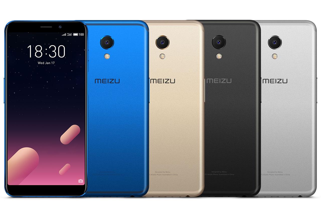 Meizu M6S בצבעים (תמונה: Meizu)