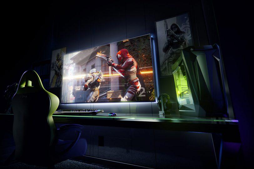 מסך גיימינג Nvidia BFGD (תמונה באדיבות Nvidia)