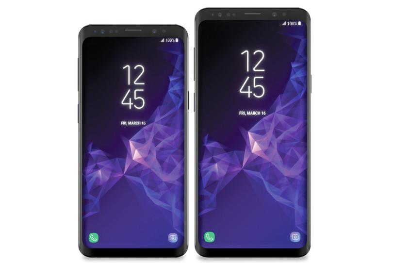 Galaxy S9 ו-Galaxy S9 Plus (הדלפה)