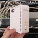 יחידת קצה סלקום Super WiFi (צילום: רונן מנדזיצקי, גאדג'טי)