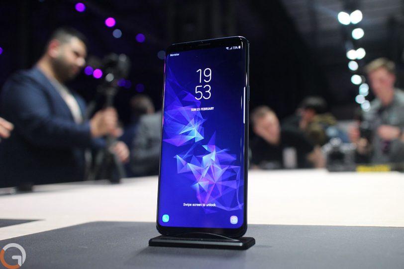 Samsung Galaxy S9 (צילום: רונן מנדזיצקי, גאדג'טי)