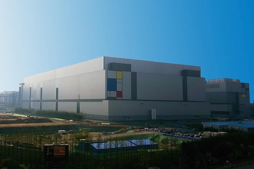 מפעל ייצור השבבים של סמסונג ב-Hwaseong דרום קוריאה