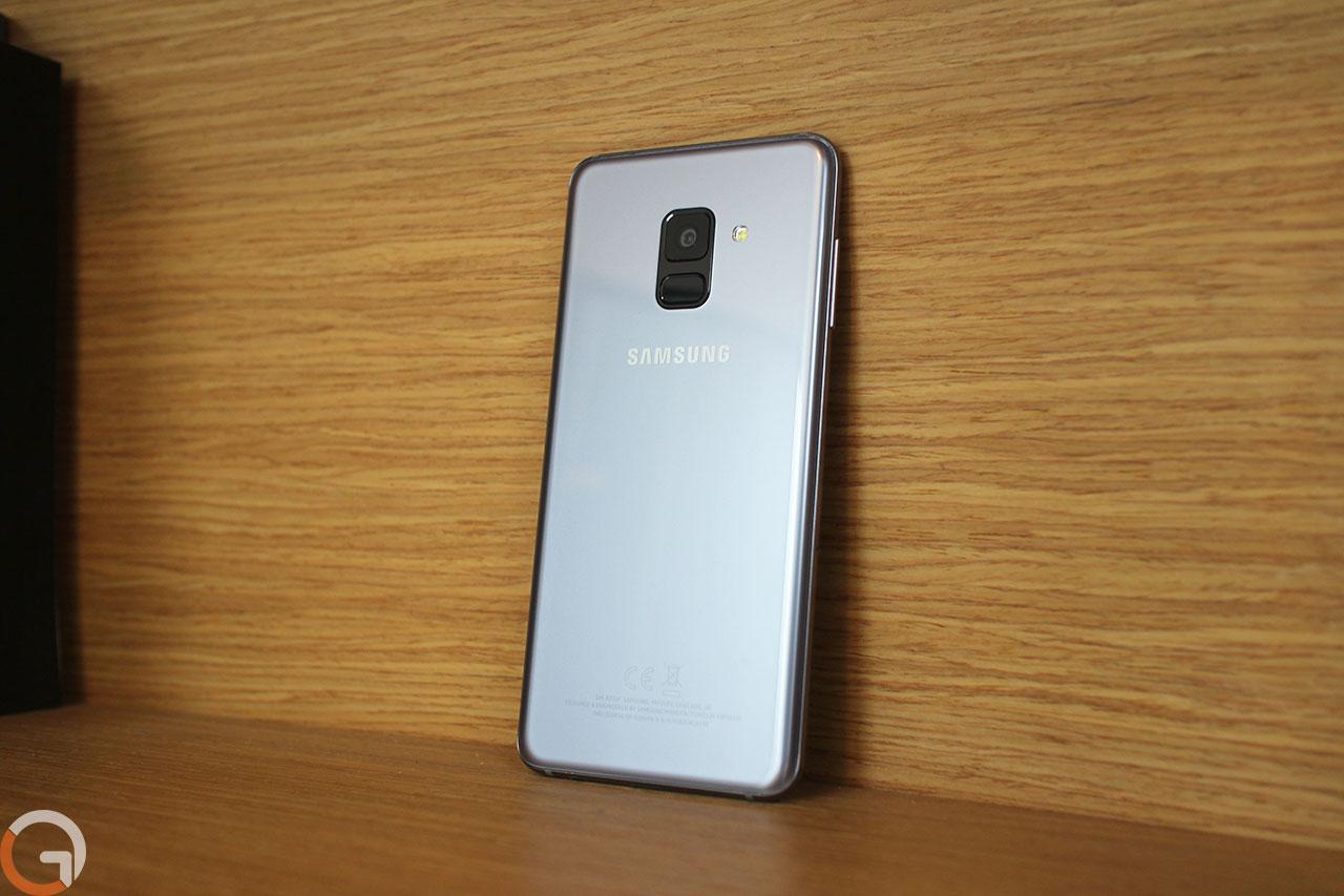 Samsung Galaxy A8 (צילום: רונן מנדזיצקי, גאדג'טי)