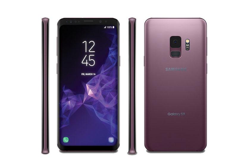 Samsung Galaxy S9 (הדלפה: Evan Blass)