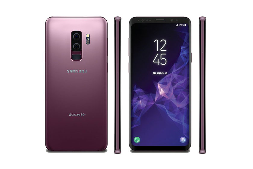 Samsung Galaxy S9 Plus (הדלפה: Evan Blass)