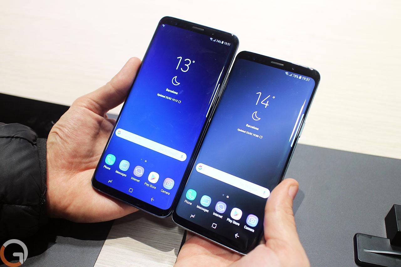 Samsung Galaxy S9 ו-S9 Plus (צילום: רונן מנדזיצקי, גאדג'טי)