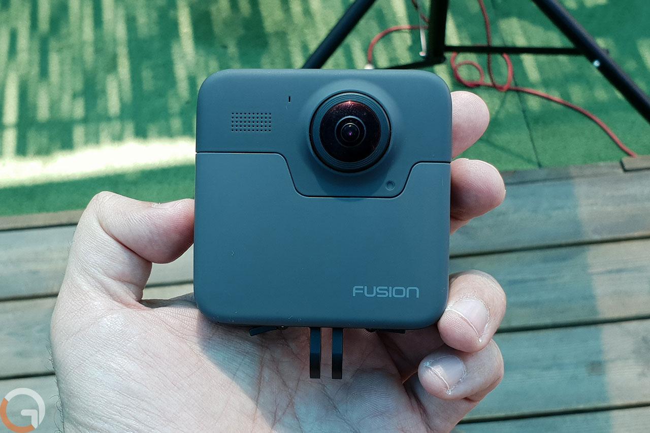 מצלמת GoPro Fusion (צילום: רונן מנדזיצקי, גאדג'טי)