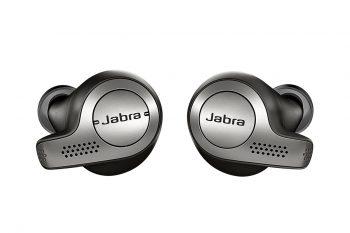 אוזניות בלוטות' נטולות חוטים Jabra Elite 65t צבע שחור-כסוף