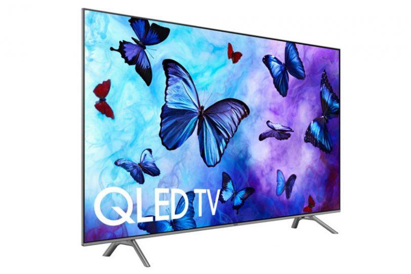 מסך Samsung QLED Q6F 2018 (תמונה: Samsung)