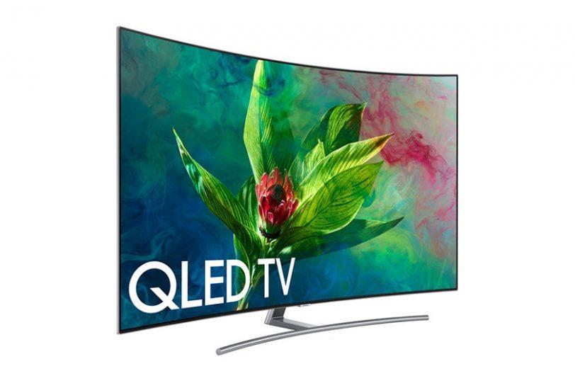 מסך Samsung QLED Q7C 2018 (תמונה: Samsung)