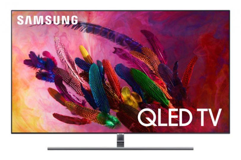 מסך Samsung QLED Q7F 2018 (תמונה: Samsung)