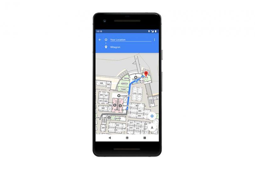 ניווט בתוך מבנים עם Android P (תמונה: Google)