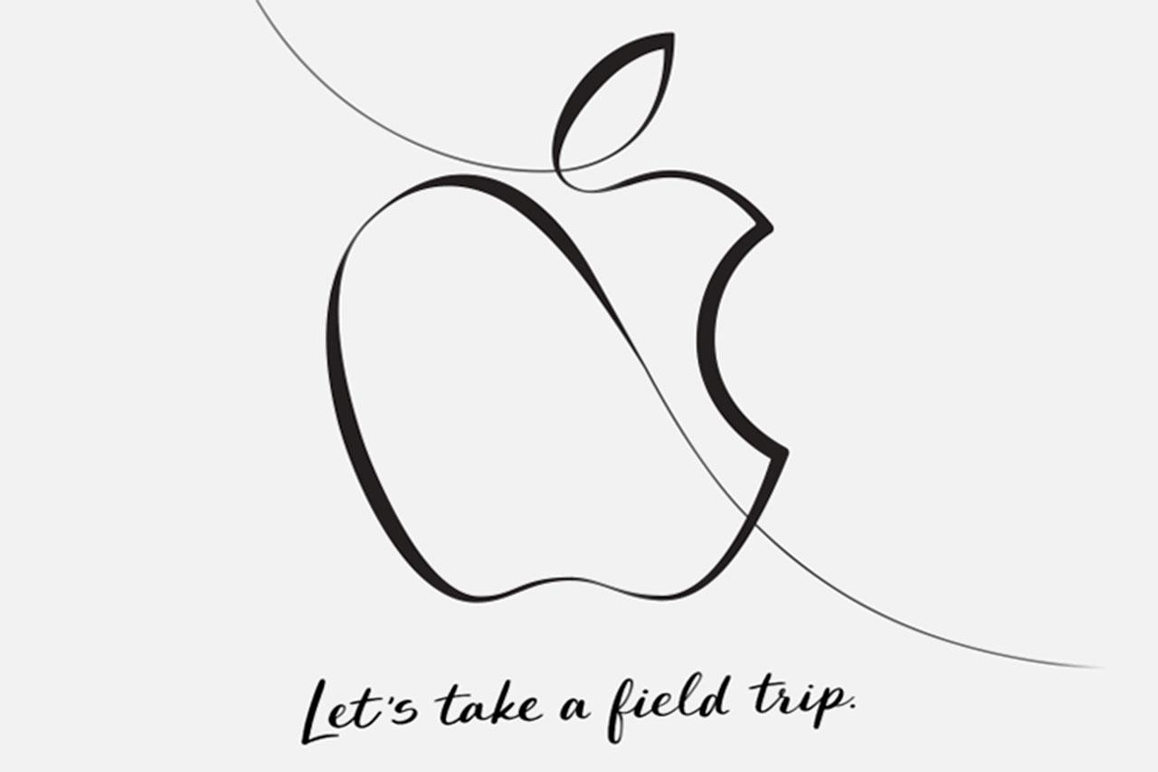 הזמנה לאירוע החינוך לשנת 2018 של אפל