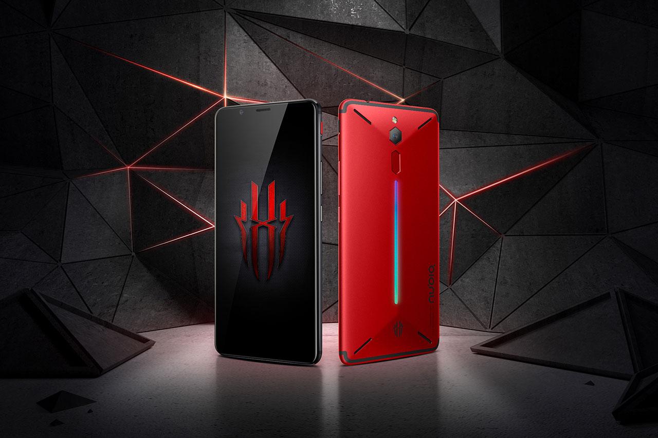 סמארטפון Red Devil בסדרת Red Magic (תמונה: Nubia)