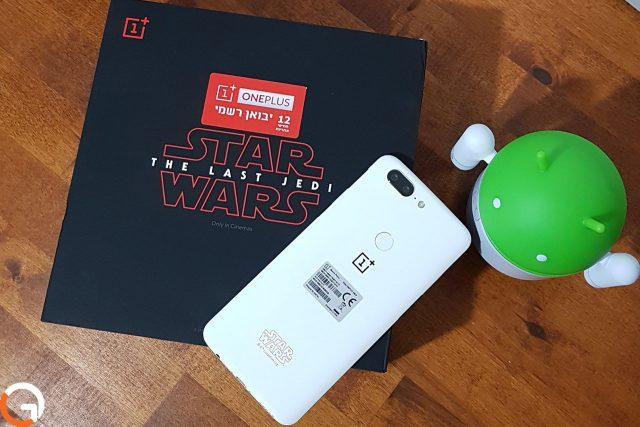 גאדג'טי מסקר: OnePlus 5T גרסת מלחמת הכוכבים בפתיחת קופסה
