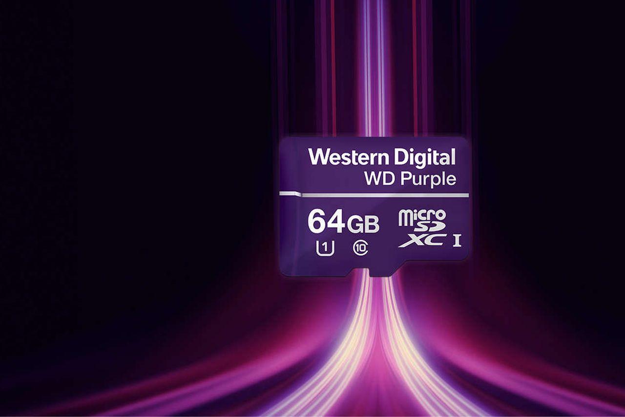 WD Purple microSD (מקור WD)