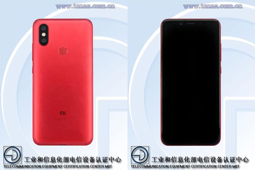 Xiaomi Mi A2 (הדלפה)