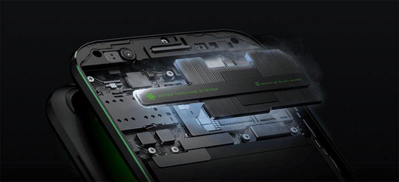 מערכת קירור Liquid Cooling בסמארטפון גיימינג Xiaomi Black Shark (מקור: Black Shark)
