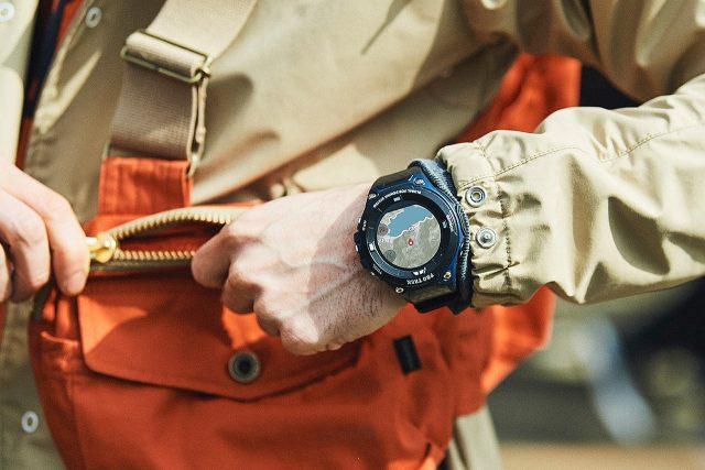 הוכרז: Casio WSD-F20A – שעון חכם מבוסס Android Wear 2.0 במחיר 399 דולר
