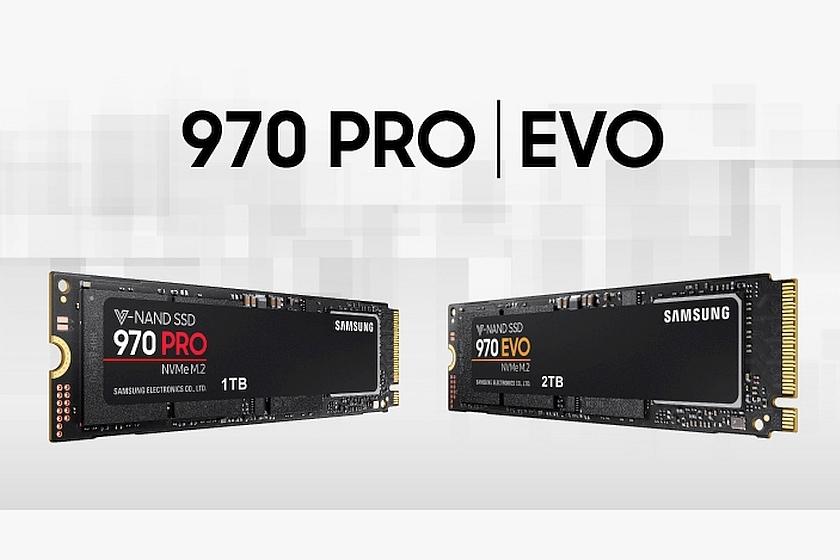 כונני 970 PRO ו-970 EVO (מקור סמסונג)