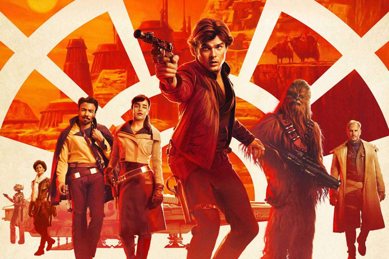 """פוסטר לסרט """"סולו: סיפור מלחמת הכוכבים"""" (תמונה באדיבות דיסני)"""