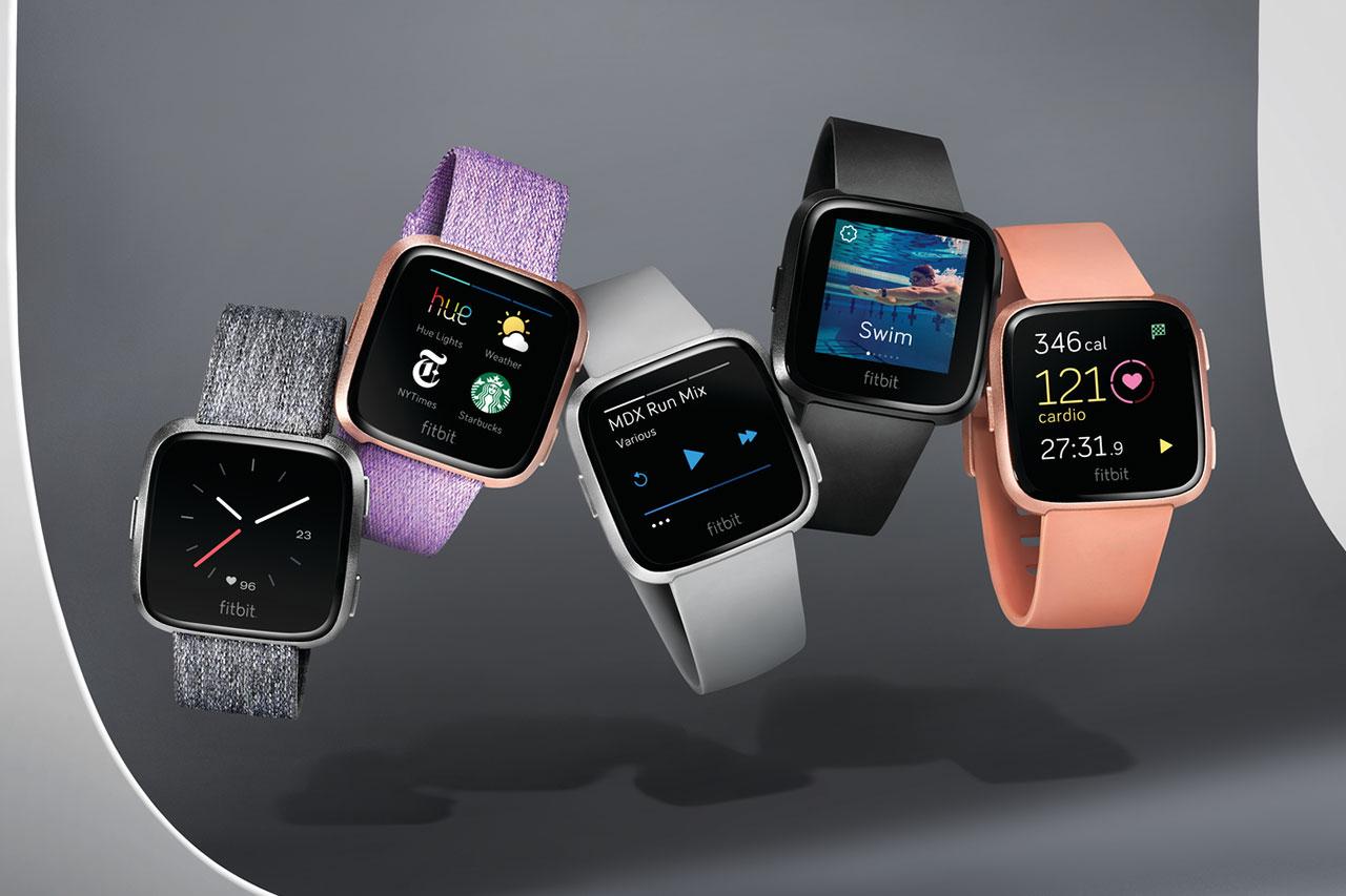 שעון חכם Fitbit Versa (תמונה באדיבות Fitbit)